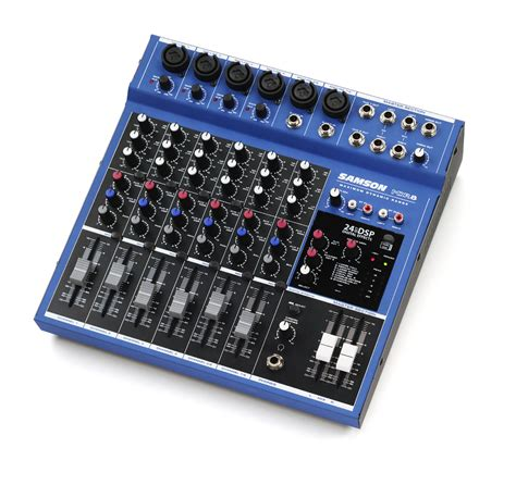 Audio Mixer Monitor Audio Em8 8channel samson mdr8