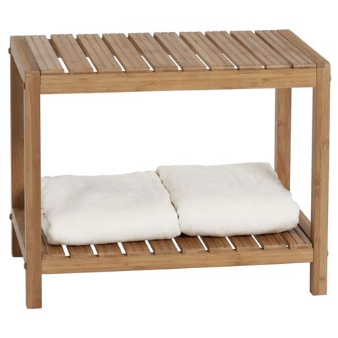 spa benches bamboo spa bench ecostyle in tub caddies and accessories
