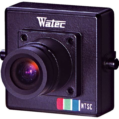Watec Wat 250d2 1 3 Color Ntsc watec wat 230 g3 8 miniature color wat 230vivid g3 8