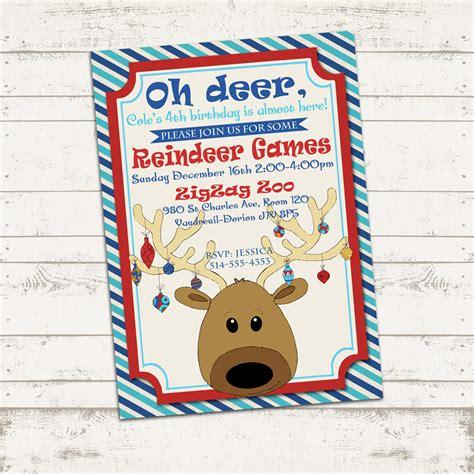 valerie pullam designs custom christmas party invitation