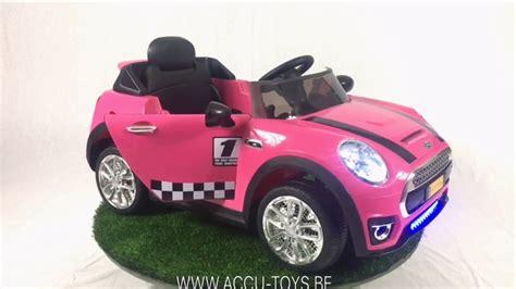 Kinderauto 6 Volt by Elektrische Kinderauto Roze Mini 6 Volt Usb Mp3 En