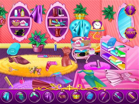 messy bedroom game free 2 play online at pacogames net princess messy room play best free mobile games on