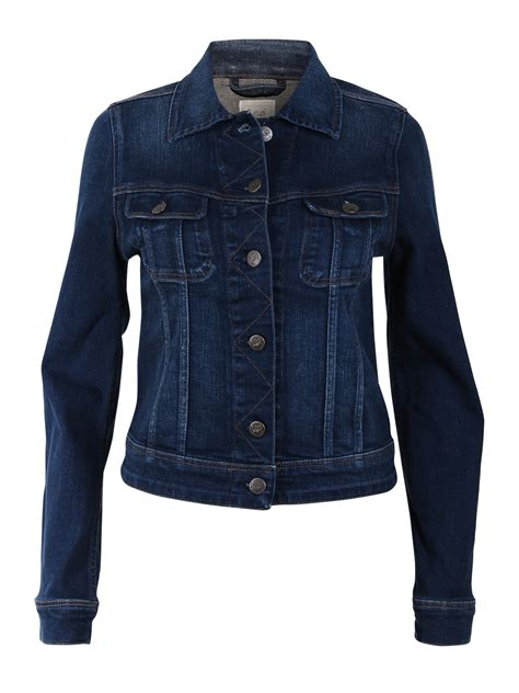 Slim Rider Shirt damen jeansjacke slim rider slim fit blau