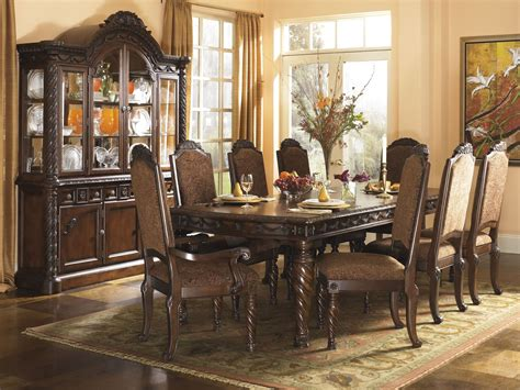 shore rectangular dining room set from d553