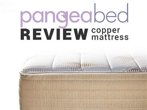 reverie mattress reviews pangea bed review a copper infused mattress that keeps you cool