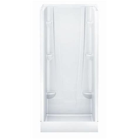 32 Inch Shower Stall Aquatic A2 32 In X 32 In X 76 In Shower Stall In White