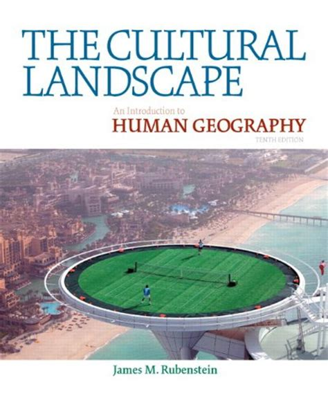 Landscape Definition Human Geography The Cultural Landscape An Introduction To Human Geography