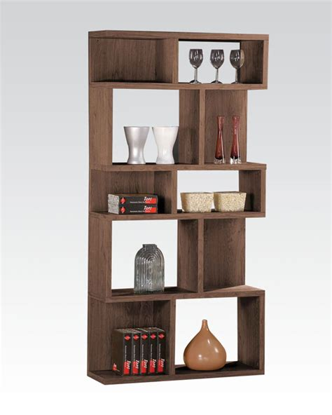 Display Bookcase Display Bookcase In Oak By Acme Furniture Ac92162