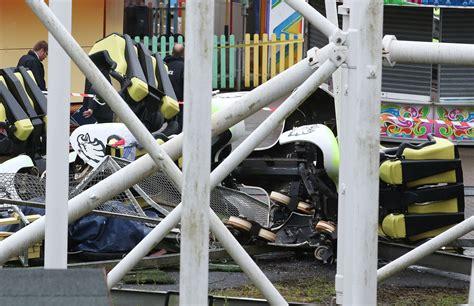 theme park crash motherwell scotland roller coaster derails at scottish