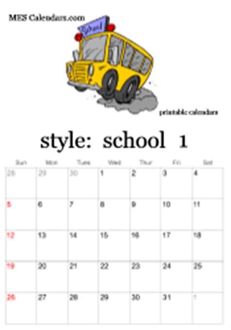 Busm Academic Calendar Free Printable School Calendars Monthly Calendars Or