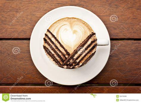 latte art leaf pattern coffee with latte art royalty free stock image image