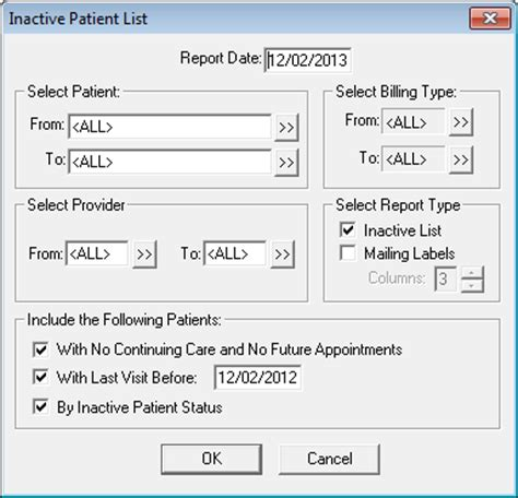 Patient Inactive Letter Dentrix Tip Tuesdays Contacting Inactive Patients