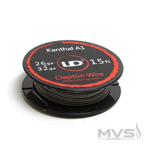 Ud Wire Kanthal A1 26ga 30 Youde Ud Kanthal A1 Clapton Wire 26ga 32ga
