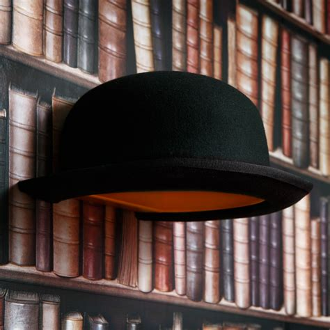 jeeves bowler hat wall light the furniture