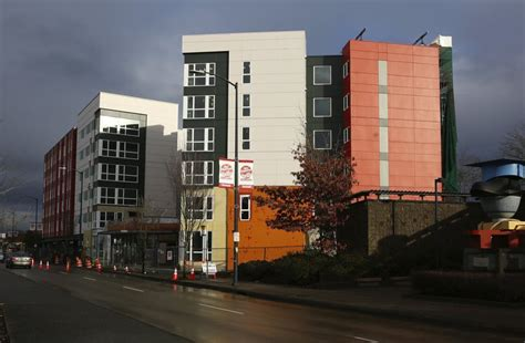 Othello Apartments In Seattle At Seattle Low Income Housing Lottery Anxious Crowd Hopes