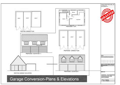 garage architectural plans plan b architecture ltd garage conversion