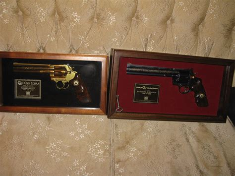 Vintage Set Seri colt anaconda king cobra revolver set matching seri