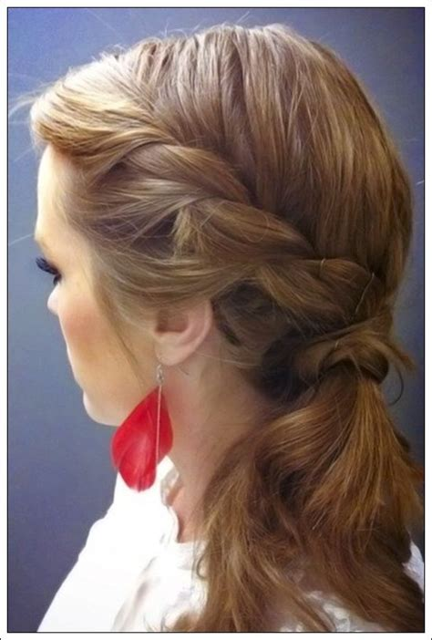hairstyles in way simple quick fashion way of different pony tail hairstyles