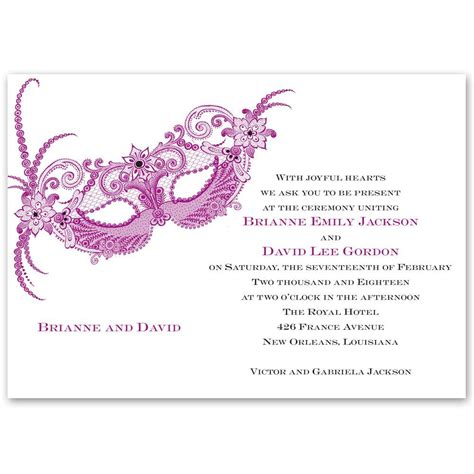 masquerade rsvp cards microsoft publisher template masquerade invitation s bridal bargains