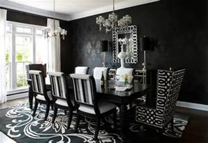 Black And White Dining Room Set 10 Ways To Achieve A Victorian Gothic Inspired Home