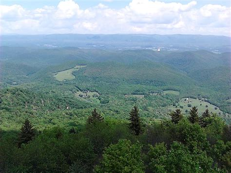 Bald Knob Va by Landforms Of West Virginia