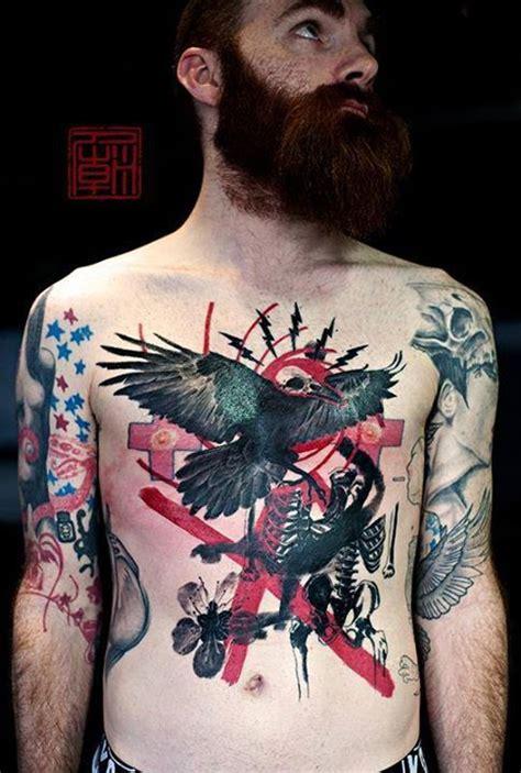 watercolor tattoos hong kong kam ink inkobserver trash polka geometric
