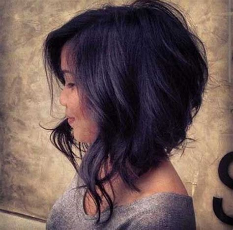 asymetrical ans stacked hairstyles best 25 curly asymmetrical bob ideas on pinterest