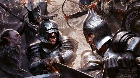 Lord Of The Rings Conques per haagensen keyart for the quot lord of the rings