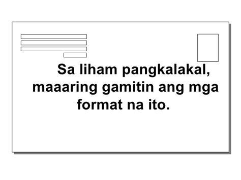 mga format ng resume mga basikong format