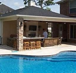 Backyard Designs With Pool And Outdoor Kitchen 25 Best Ideas About Covered Outdoor Kitchens On Outdoor Kitchen Bars Outdoor