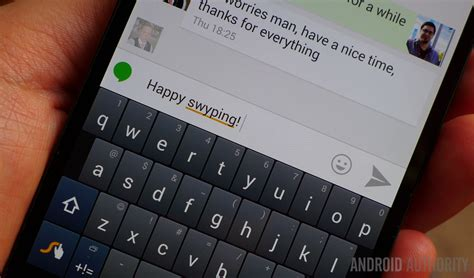 android swype keyboard swype update faster stronger and less buggy