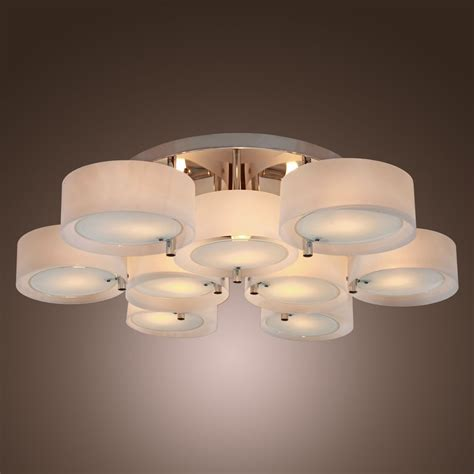 How To Make Ceiling Light Best Selling Modern Flush Mount Chandeliers Lighting Ceiling Fixture Bedroom Usa Ebay