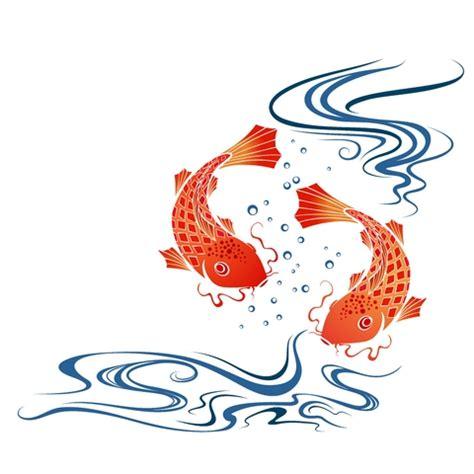 orange koi fish tattoo design koi fish