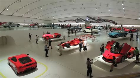 Ferrari Italy Museum by Ferrari Museum Maranello And Modena Youtube