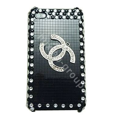 Op5013 Bling For Iphone 4 4s 4g Kode Bi 8 buy wholesale iphone 4g silver metal chanel bling