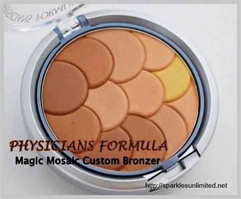 physicians formula multi colored light bronzer sparkles unlimited physicians formula magic mosaic multi