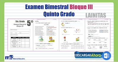 examen bimestral sexto grado apexwallpaperscom examen bimestral bloque iii quinto grado material educativo