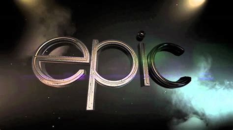 epic film titles after effects element 3d quot epic quot title animation test