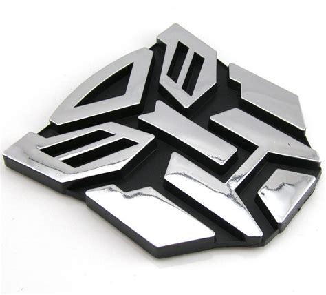 Transformers Motorrad Aufkleber by Cool Transformers Autobot 3d Logo Emblem Badge Decal Auto