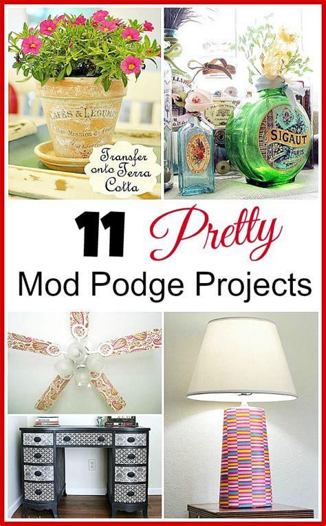 diy mod podge projects 11 pretty diy mod podge projects