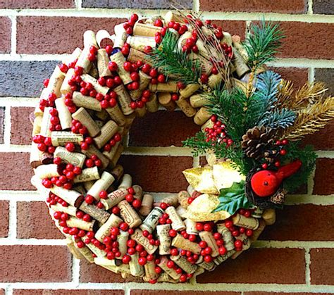 decorating ideas for wire wreaths frames 2 easy cork wreath tutorials