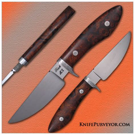 jerry fisk jerry fisk s custom knife engrvd ironwood sendero