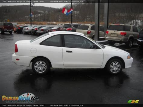 mitsubishi mirage coupe 2000 mitsubishi mirage de coupe white black photo 3