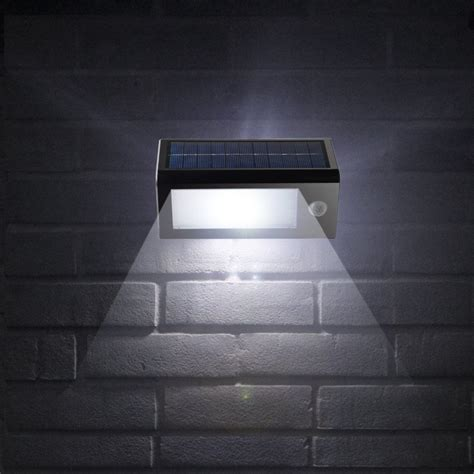 sensor lights for house solar powered outdoor motion sensor security 32 led lights