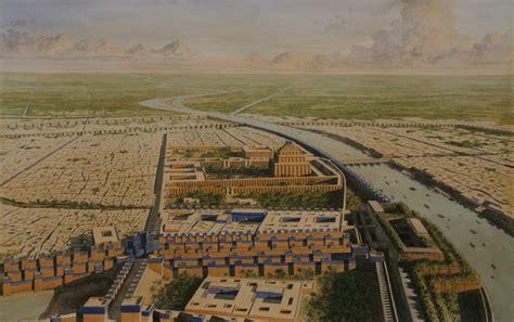 In Babylon all mesopotamia afantasyhistory babylon aerial view