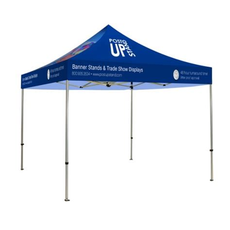 Outdoor Shelter Plans Post Up Stand Introducing New Custom Printed Canopy Tents