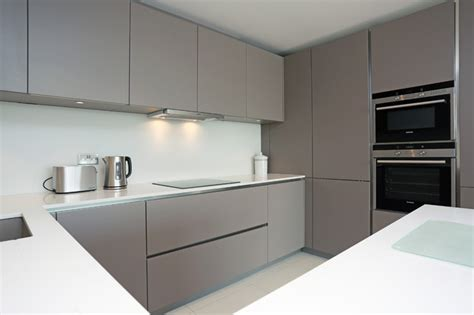 Basalt Grey Kitchen Finish Modern Kitchen London Grey Modern Kitchen Cabinets