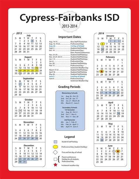 Fair Calendar Cfisd Calendar 2017 My