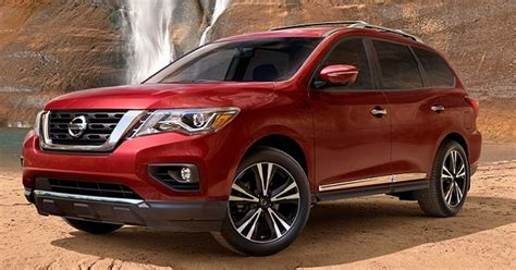 nissan pathfinder 2018 2018 nissan pathfinder the tough looking carrier