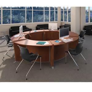 circular office desk ofm marque ada desk circular workstation package marque3